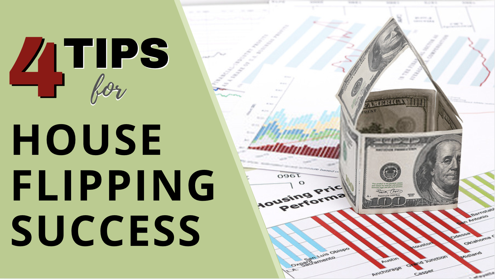 4 Tips for House Flipping Success